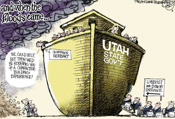 93819 600 LOCAL Utah Flooding cartoons