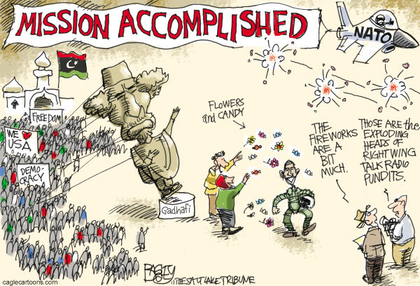 97160 600 Mission Accomplished—No Really cartoons