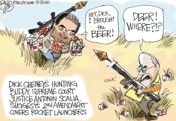 116094 600 Hunting With Cheney cartoons