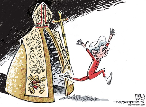 127981 600 More Pope, Italy, Sequester and Wedgies cartoons