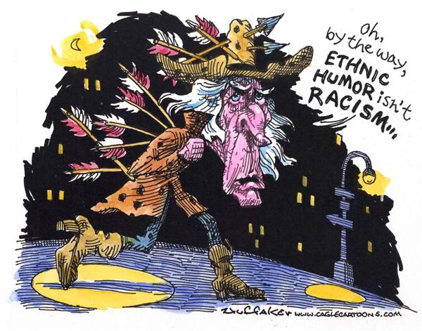 36955 600 Racism or Ethnic Humor cartoons