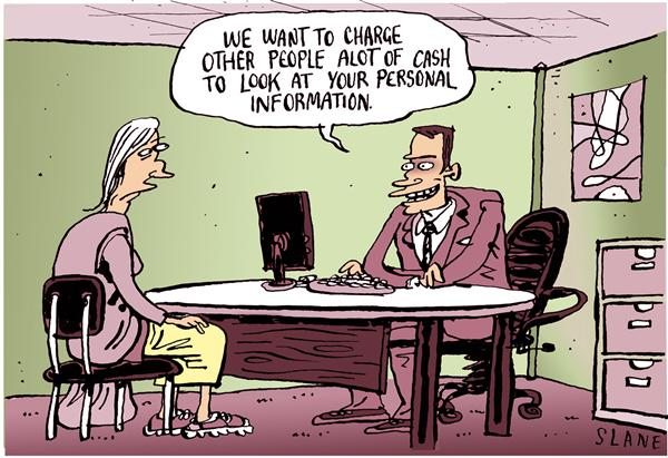 17314 600 Sells Your Personal Details cartoons