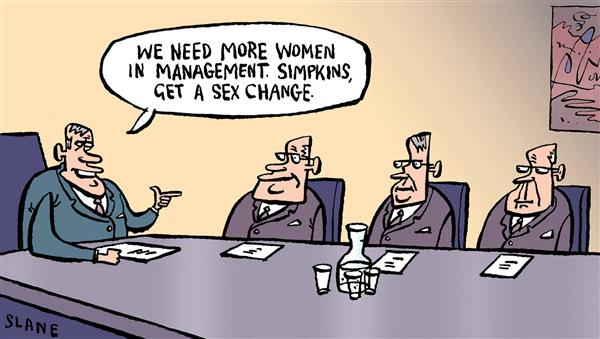25778 600 More Women In Management cartoons