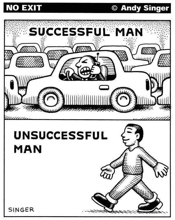 77103 600 Successful Man cartoons