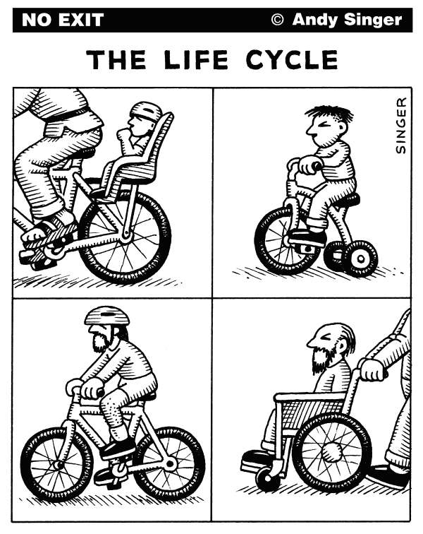 77998 600 Life Cycle cartoons