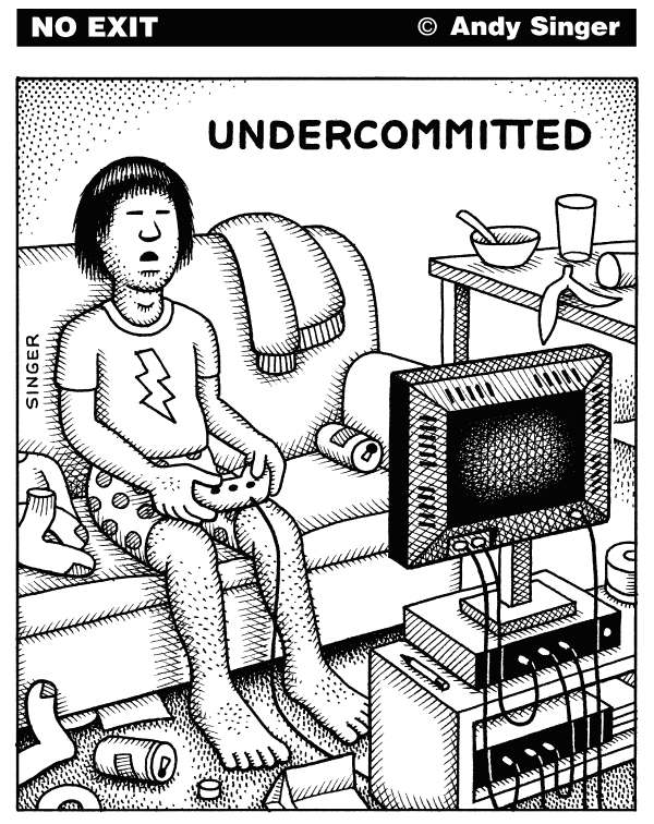 83709 600 Undercommitted cartoons