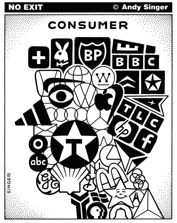 84927 600 Consumer Logo Head cartoons