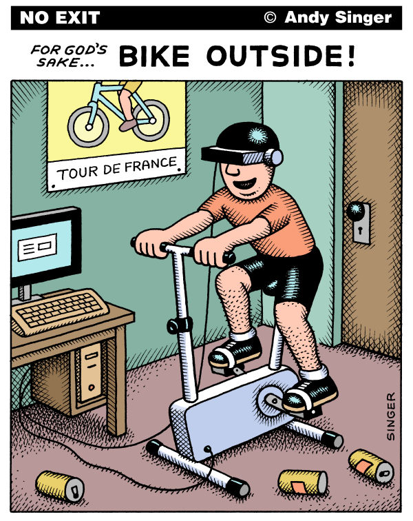 89236 600 Bike OutsideVersion cartoons