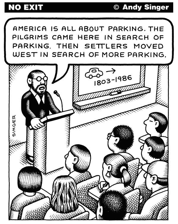 95678 600 America About Parking cartoons