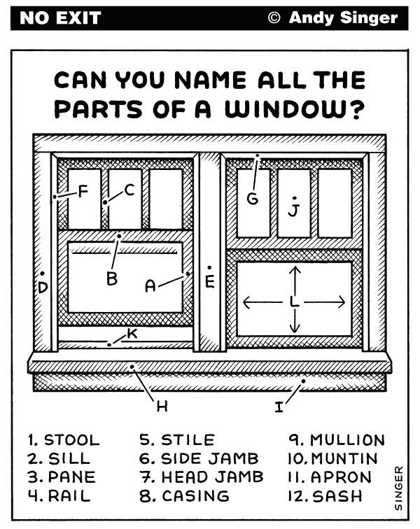 112033 600 Window Parts cartoons