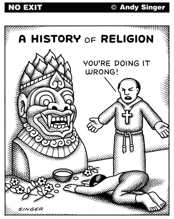 116016 600 A History of Religion cartoons