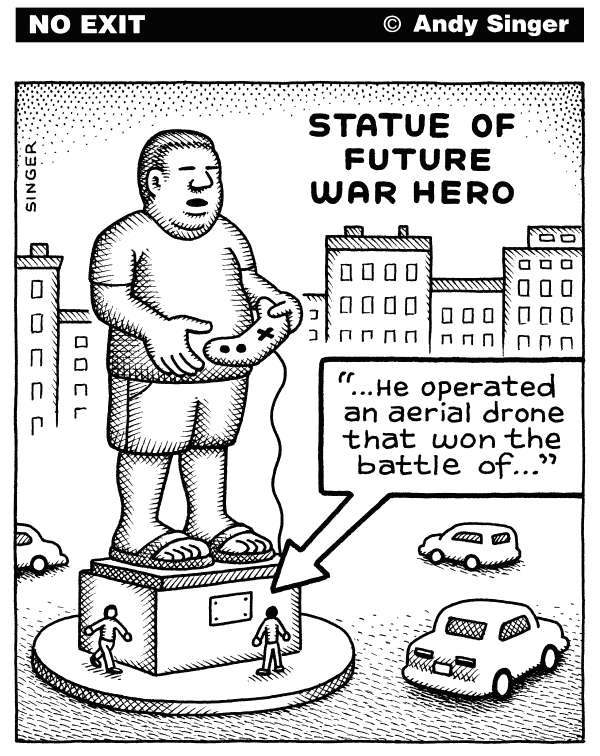 116019 600 Statue of Future War Hero cartoons