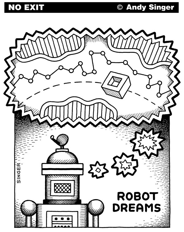 119905 600 Robot Dreams cartoons