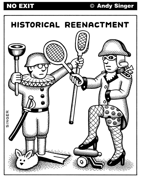 123494 600 Historical Reenactment cartoons