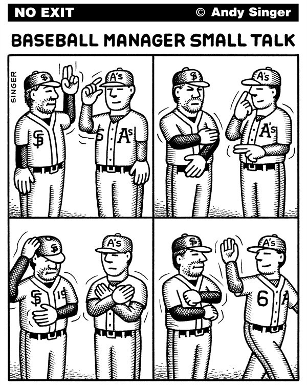 123497 600 Baseball Manager Small Talk cartoons