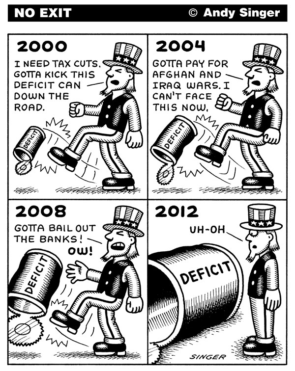 124033 600 Deficit Can cartoons
