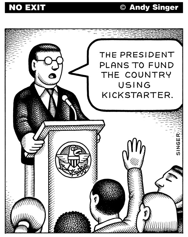 126390 600 Fund the Government with Kickstarter cartoons