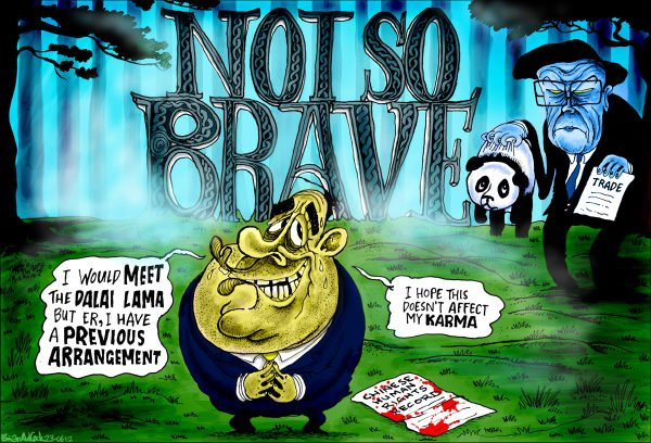 114174 600 Scottish Leader Not So Brave cartoons