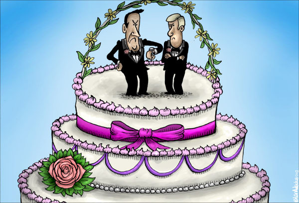 115395 600 Delayed Decision on Gay Marriage in Scotland cartoons