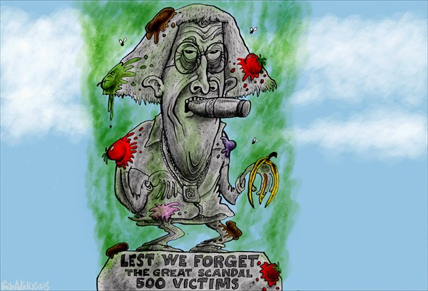 125613 600 Lest We Forget cartoons