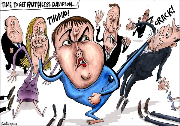 132743 600 Scottish Conservative Leader Under Attack cartoons