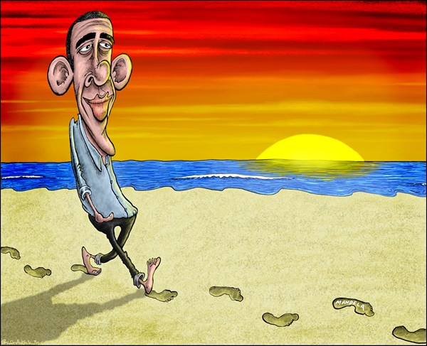 134026 600 Obama Following in Mandelas Footsteps cartoons