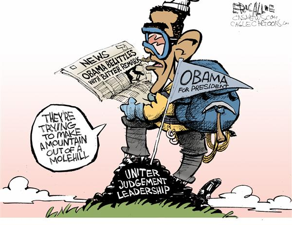 49971 600 Obama Mountain out of a molehill cartoons