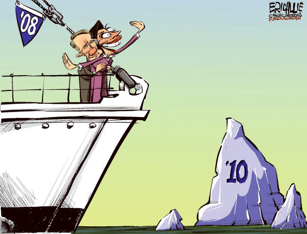 73224 600 Dems on top of the world cartoons
