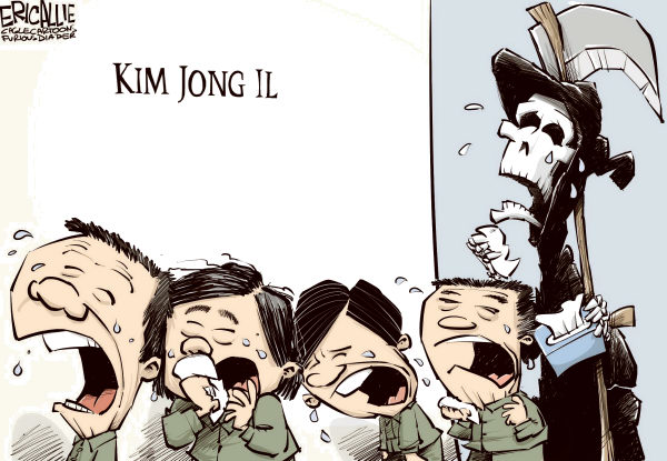 103262 600 Wailing over Kim cartoons
