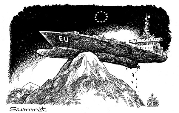 112277 600 EU Summit Ship cartoons