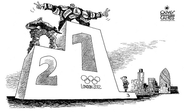 116026 600 London 2012 Winner cartoons