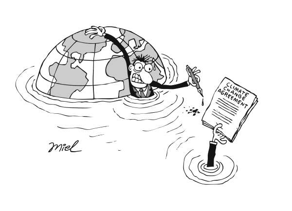71668 600 COP15 CLIMATE CHANGE cartoons