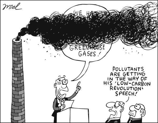 71726 600 GREENHOUSE GAS EMISSIONS cartoons