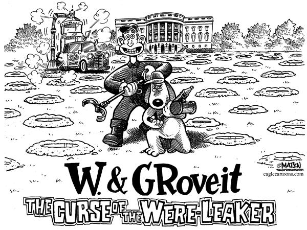 RJ Matson - The New York Observer - W. & Grove-it - English - Presdient George W. Bush, White House, Karl Rove, Valerie Plame Leak