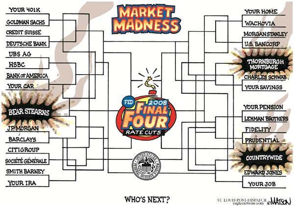 49123 600 Market Madness cartoons