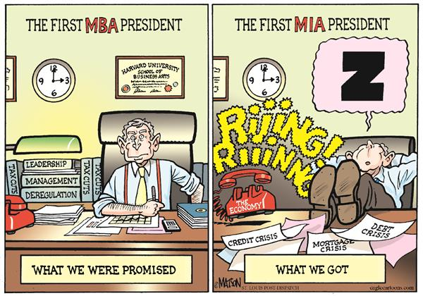 49664 600 The First MBA President cartoons