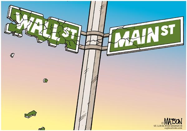 56207 600 Wall Street Contaminates Main Street cartoons