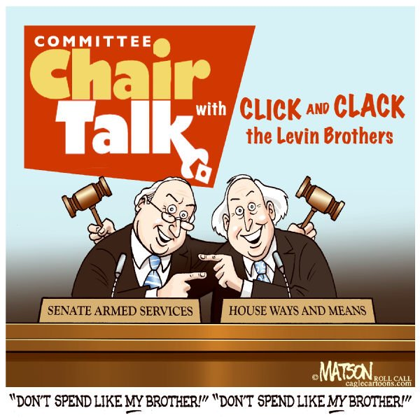 75658 600 Chair Talk With Click and ClackThe Levin Brothers cartoons