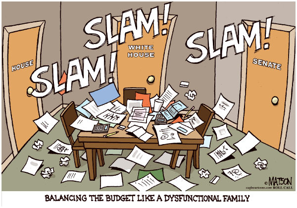 96074 600 Balancing The Budget Like A Dysfunctional Family cartoons