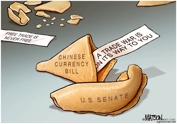 99266 600 China Sanctions Fortune Cookie cartoons