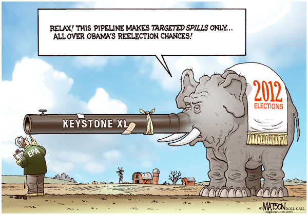 105001 600 Keystone XL Campaign Pipeline cartoons