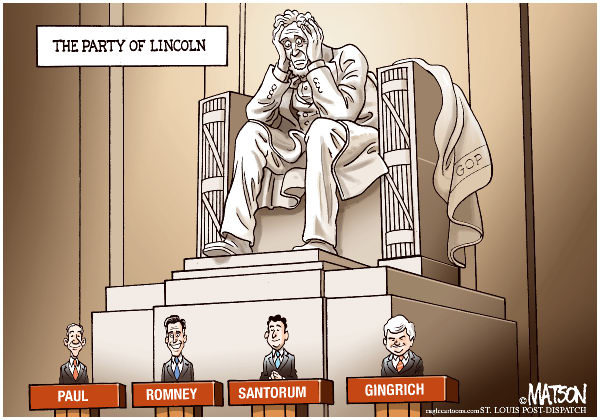 107818 600 The Party of Lincoln cartoons