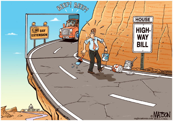 109126 600 Wile E Boehner and the Highway Bill cartoons