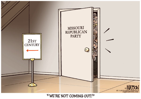 111362 600 Local MO Republican Party Wont Come Out Of the Closet cartoons