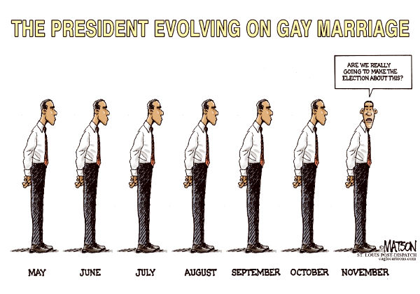 111430 600 Obama Evolving on Gay Marriage cartoons