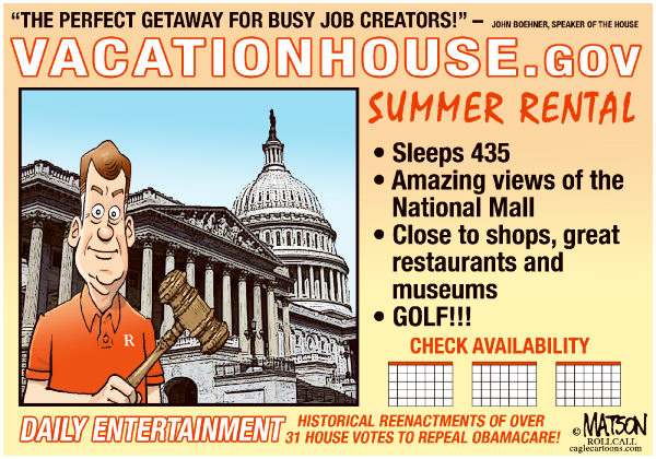 114977 600 Vacation House of Representative  s cartoons
