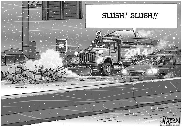 RJ Matson -  - One More Winter Storm - English - One More Winter Storm. 2014, Snow, Snowstorm, Snow Removal, Slush