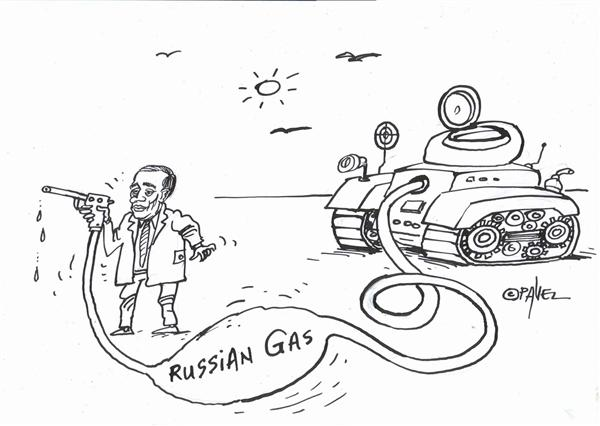 Pavel Constantin - Romania - Putin - English - Putin, military, economy, oil, gas, natural resources, Europe, embargo, conflict, pipes, military, army, politics, soviet