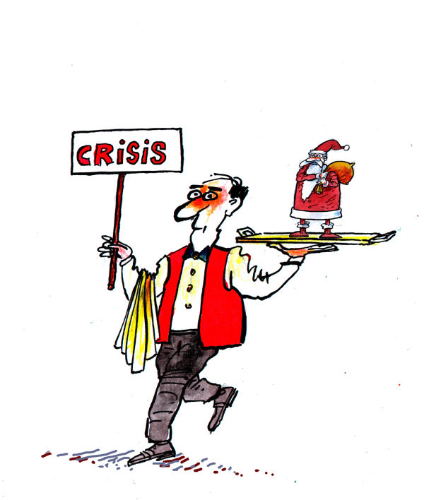Pavel Constantin - Romania - Crisis - English - Crisis,life,money,economy,politics,Santa,taxes,new,year,recession,Christmas,children