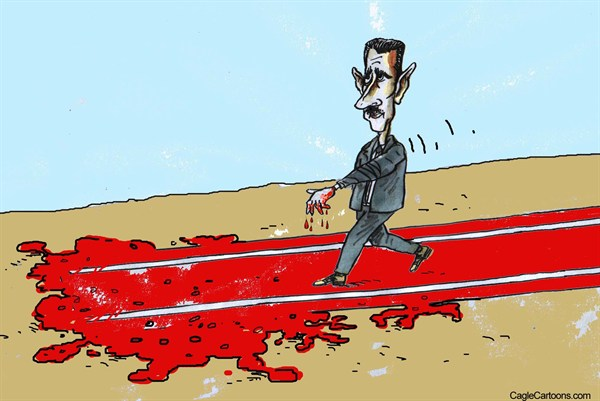 Pavel Constantin - Romania - Bashar Al-Ashad - English - Bashar, Al, Ashad blood, terror, revolution, politics, people, crime, president, Syria